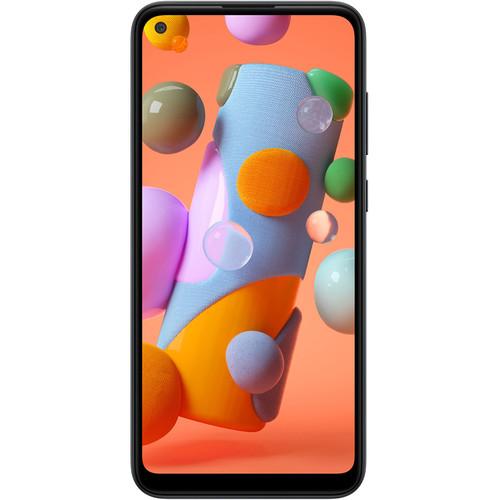 Samsung Galaxy A11 A115M Dual-SIM 32GB Smartphone (Unlocked, Black)