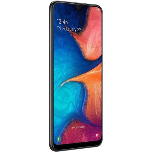 Samsung Galaxy A20 SM-A205G Dual-SIM 32GB Smartphone (Unlocked, Black)