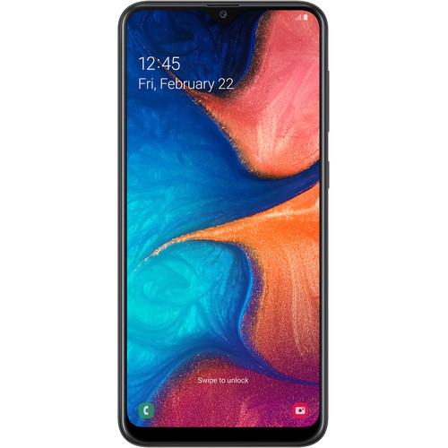 Samsung Galaxy A20 SM-A205U 32GB Smartphone (Unlocked, Black)