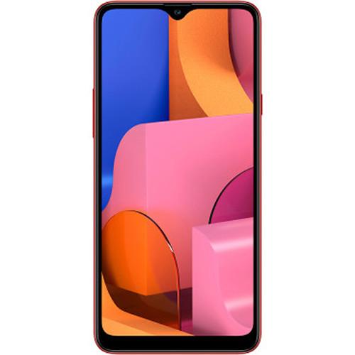 Samsung Galaxy A20s A207M Dual-SIM 32GB Smartphone (Unlocked, Red)
