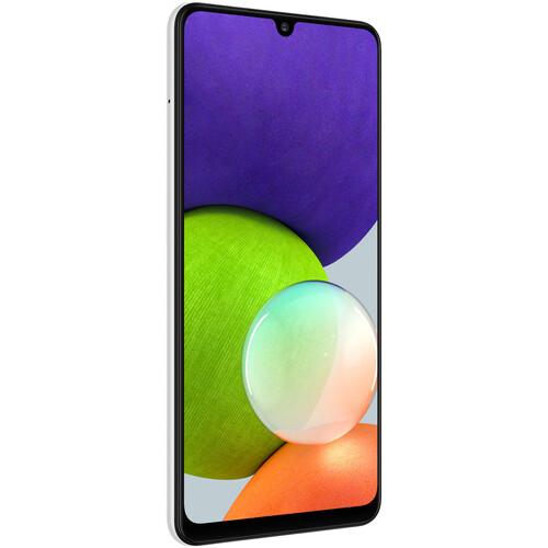 Samsung Galaxy A22 A225M Dual-SIM 64GB Smartphone (Unlocked, White)