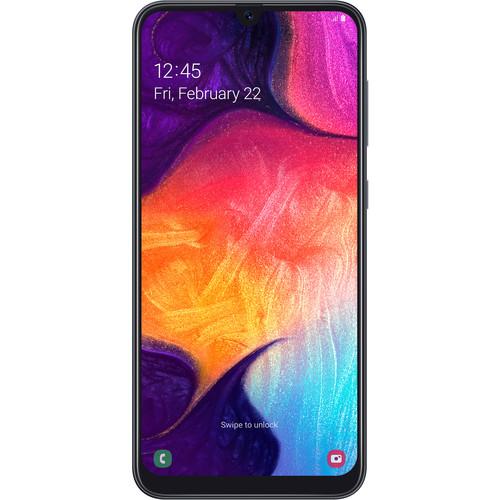 Samsung Galaxy A50 SM-A505U 64GB Smartphone (Unlocked, Black)