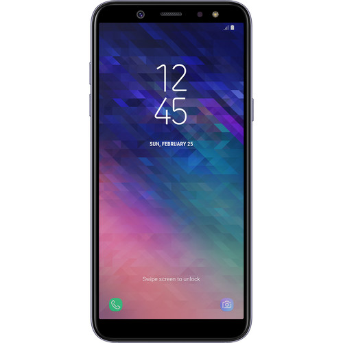 Samsung Galaxy A6 (2018) SM-A600 32GB Smartphone (Unlocked, Gray)