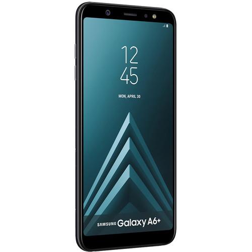 Samsung SM-A605 Galaxy A6+ DUOS Dual-SIM 32GB Smartphone (Unlocked, Black)