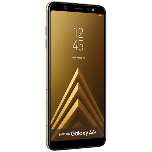 Samsung SM-A605 Galaxy A6+ DUOS Dual-SIM 32GB Smartphone (Unlocked, Gold)