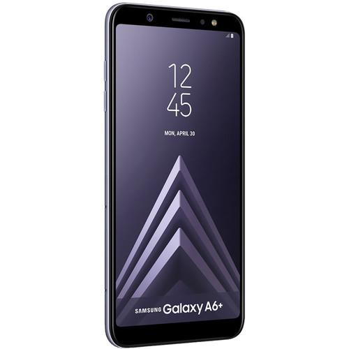Samsung SM-A605 Galaxy A6+ DUOS Dual-SIM 32GB Smartphone (Unlocked, Lavender)