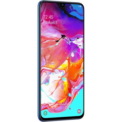 Samsung Galaxy A70 SM-A705 Dual-SIM 128GB Smartphone (Unlocked, Blue)