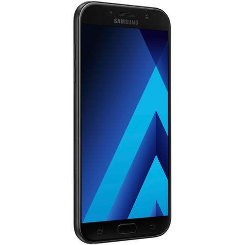 Samsung Galaxy A7 Duos (2017) SM-A720F/DS 32GB Smartphone (Unlocked, Black)