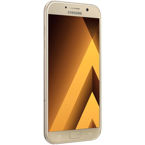 Samsung Galaxy A7 SM-A720F LTE 2017 Dual Sim Smartphone (Gold)