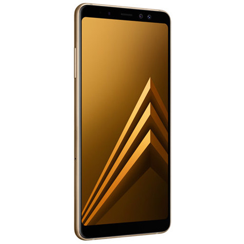 Samsung Samsung Galaxy A8+ (2018) SM-A730 32GB Smartphone (Unlocked, Gold)