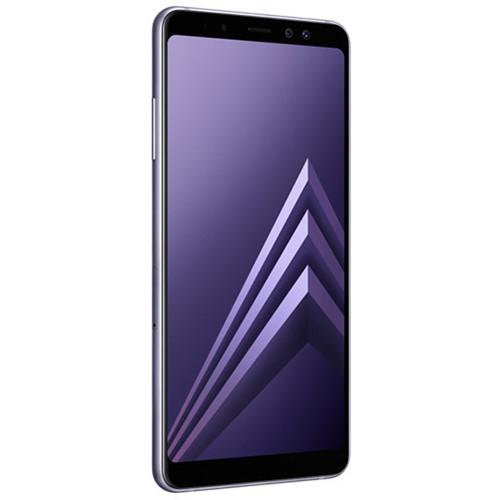Samsung Samsung Galaxy A8+ (2018) SM-A730 32GB Smartphone (Unlocked, Orchid Gray)