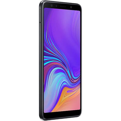 Samsung Galaxy A7 (2018) SM-A750 Dual-SIM 64GB Smartphone (Unlocked, Black)