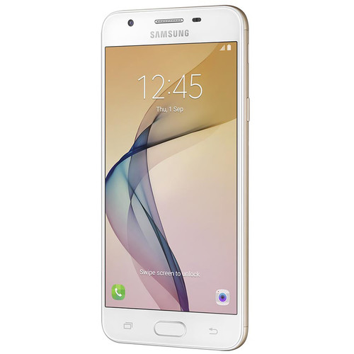 Samsung Galaxy J5 Prime SM-G570M Duos 16GB Smartphone (Region Specific Unlocked, White Gold)