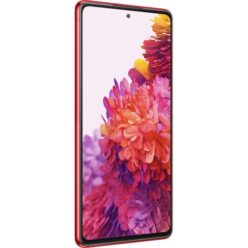 Samsung Galaxy S20 FE Dual-SIM 256GB Smartphone (Unlocked, Cloud Red)