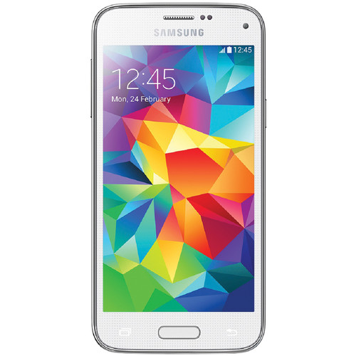 Samsung Galaxy S5 Mini SM-G800F 16GB Smartphone (Unlocked, White)