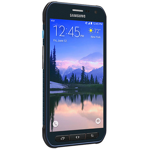Samsung Galaxy S6 Active SM-G890A 32GB AT&T Branded Smartphone (Unlocked, Blue)