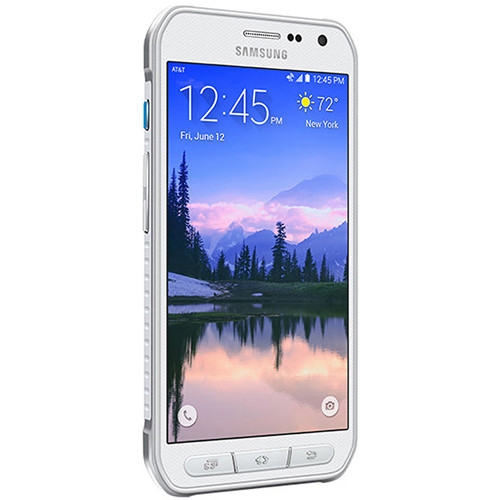 Samsung Galaxy S6 Active SM-G890A 64GB AT&T Branded Smartphone (Unlocked, White)