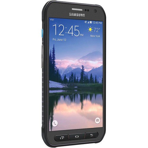 Samsung Galaxy S6 Active SM-G890A 32GB AT&T Branded Smartphone (Unlocked, Gray)