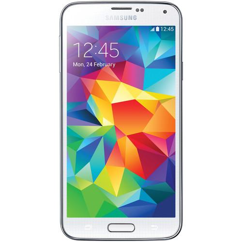 Samsung Galaxy S5 SM-G900F 16GB Smartphone (Unlocked, White)