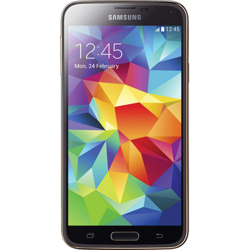 Samsung Galaxy S5 SM-G900H 16GB Smartphone (Region Specific Unlocked, Gold)