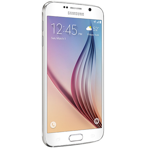 Samsung Galaxy S6 SM-G920A 32GB AT&T Branded Smartphone (Unlocked, White Pearl)