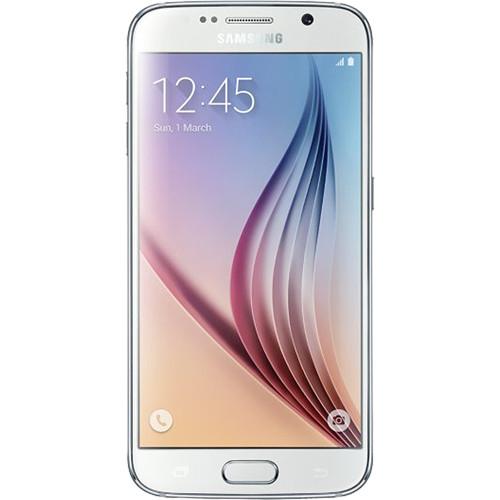 Samsung Galaxy S6 SM-G920I 128GB Smartphone (Unlocked, White Pearl)