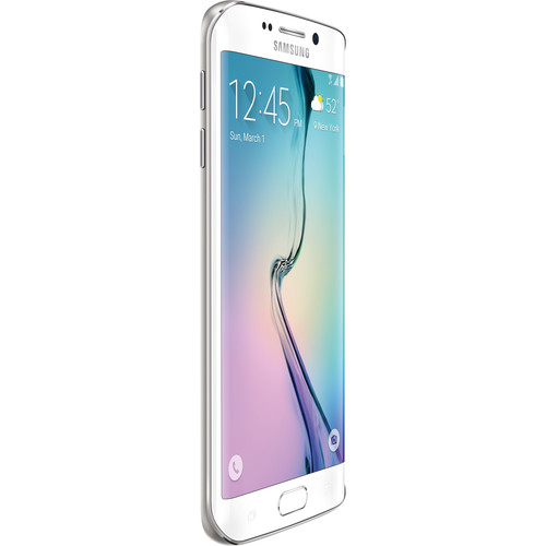 Samsung Galaxy S6 edge SM-G925A 32GB AT&T Branded Smartphone (Unlocked, White)