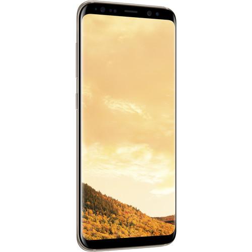 Samsung Galaxy S8 SM-G950F 64GB Smartphone (Unlocked, Maple Gold)