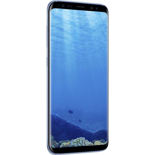 Samsung Galaxy S8 SM-G950F 64GB Smartphone (Unlocked, Coral Blue)