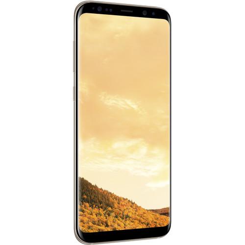 Samsung Galaxy S8+ SM-G955F 64GB Smartphone (Unlocked, Maple Gold)