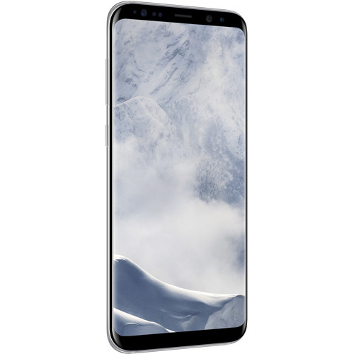 Samsung Galaxy S8+ SM-G955F 64GB Smartphone (Unlocked, Arctic Silver)