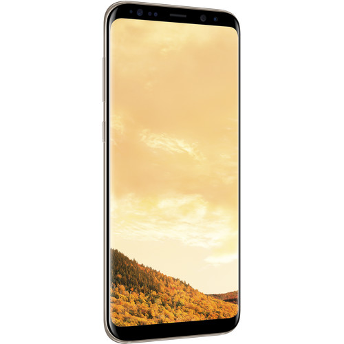 Samsung Galaxy S8+ Duos SM-G955FD 64GB Smartphone (Unlocked, Maple Gold)
