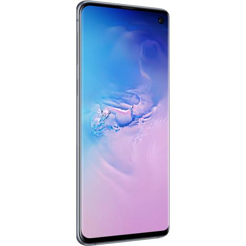 Samsung Galaxy S10 SM-G973F Dual-SIM 128GB Smartphone (Unlocked, Prism Blue)