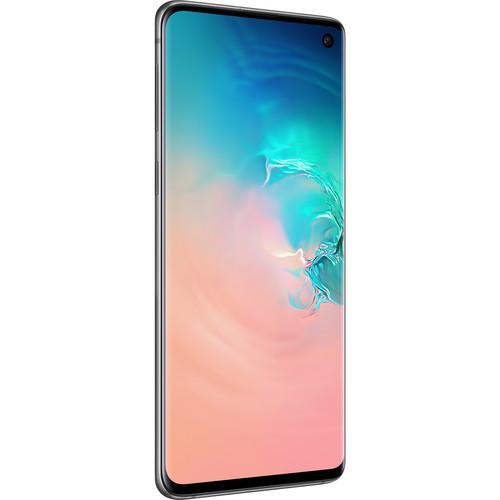 Samsung Galaxy S10 SM-G973U 128GB Smartphone (Unlocked, Prism White)
