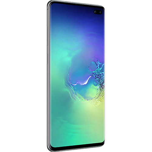 Samsung Galaxy S10+ SM-G975F Dual SIM 128GB Smartphone (Unlocked, Green)