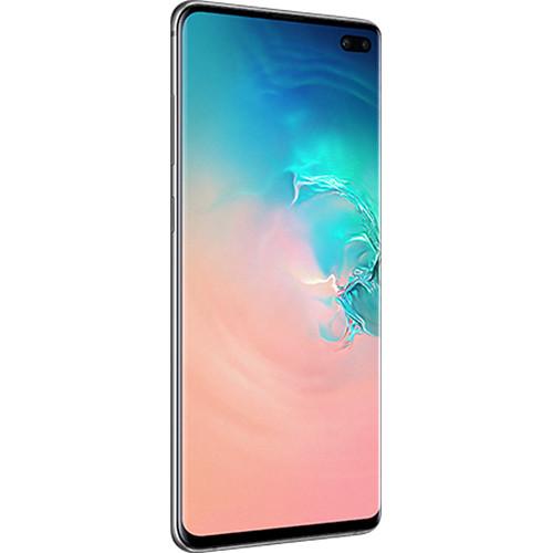 Samsung Galaxy S10+ SM-G975F Dual SIM 128GB Smartphone (Unlocked, White)
