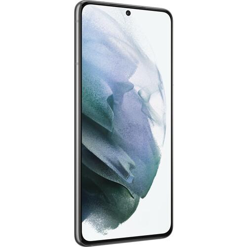 Samsung Galaxy S21 Dual-SIM 128GB 5G Smartphone (Unlocked, Phantom Gray)