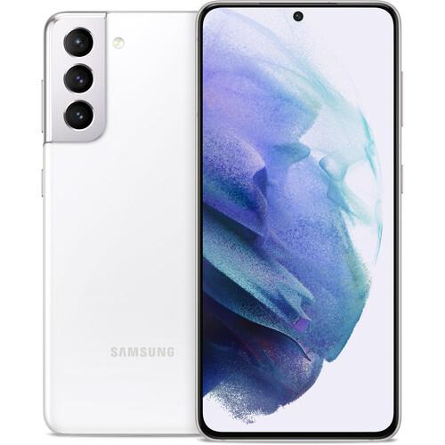 Samsung Galaxy S21 Dual-SIM 128GB 5G Smartphone (Unlocked, Phantom White)