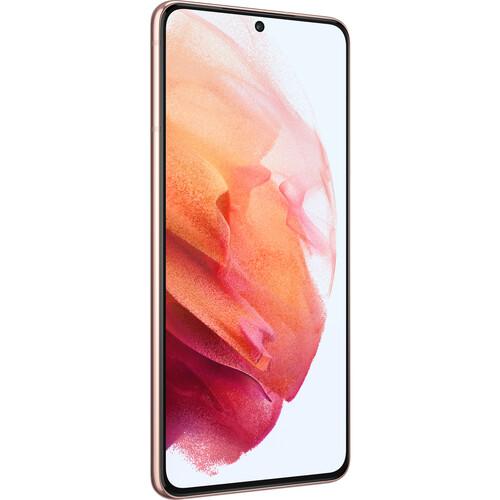 Samsung Galaxy S21 Dual-SIM 256GB 5G Smartphone (Unlocked, Phantom Pink)