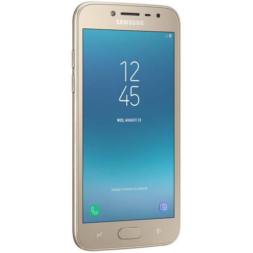 Samsung Galaxy J2 Pro (2018) SM-J250M 16GB Smartphone (Unlocked, Gold)