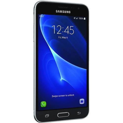 Samsung Galaxy J3 J320A 16GB AT&T Branded Smartphone (Unlocked, Dark Gray)