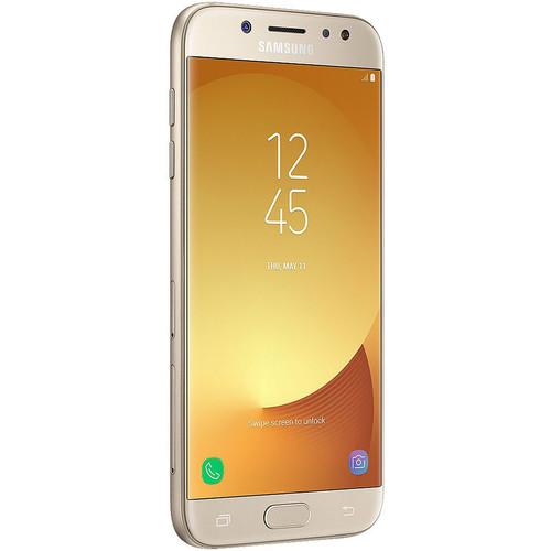 Samsung Galaxy J5 Pro SM-J530G 16GB Smartphone (Region Specific Unlocked, Gold)