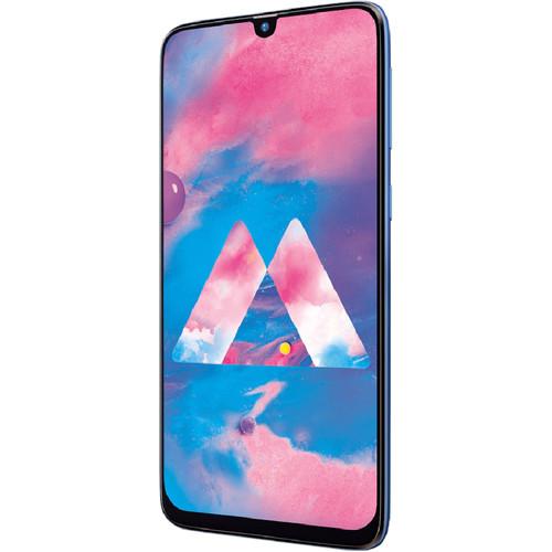 Samsung Galaxy M30 M305M Dual-SIM 64GB Smartphone (Unlocked, Ocean Blue)