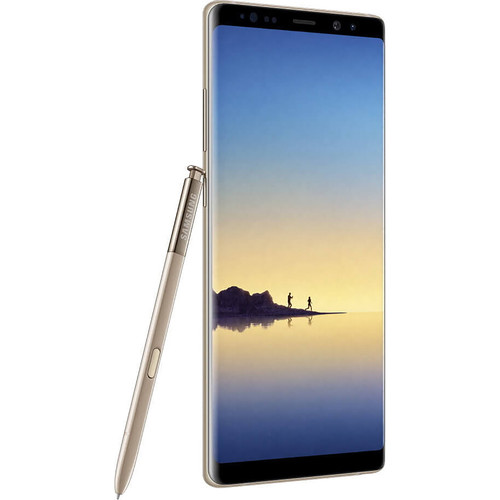 Samsung Galaxy Note8 SM-N950F 64GB Smartphone (Unlocked, Maple Gold)
