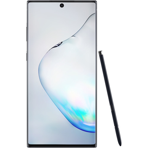 Samsung Galaxy Note10+ SM-N975U 256GB Smartphone (Unlocked, Aura Black)