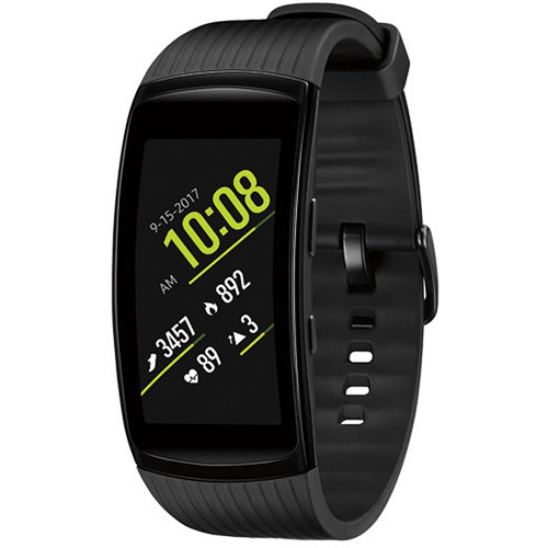 Samsung Gear Fit2 Pro Fitness Band (Small, Black)