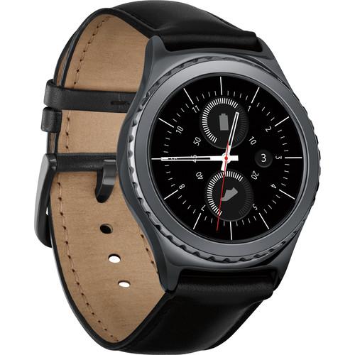 Samsung Gear S2 Classic Smartwatch (Black)