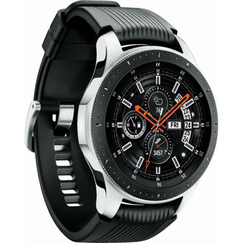 Samsung Galaxy Watch (Silver, 46mm, Bluetooth) SM-R800NZSAXAR