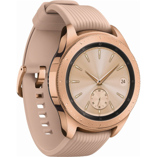 Samsung Galaxy Watch (Rose Gold, 42mm, Bluetooth)