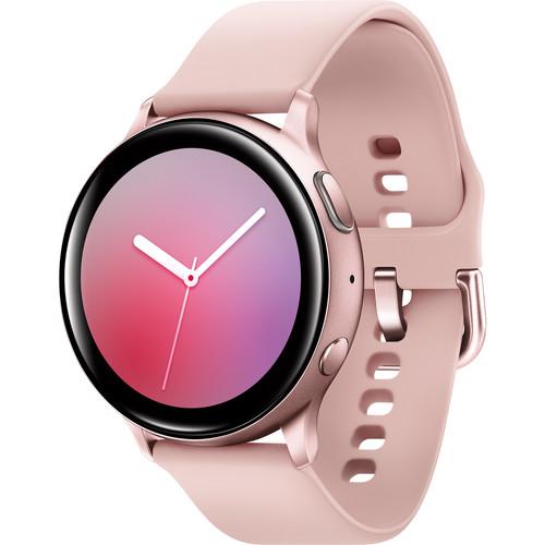 Samsung Galaxy Watch Active2 Bluetooth Smartwatch (Aluminum, 44mm, Pink Gold)